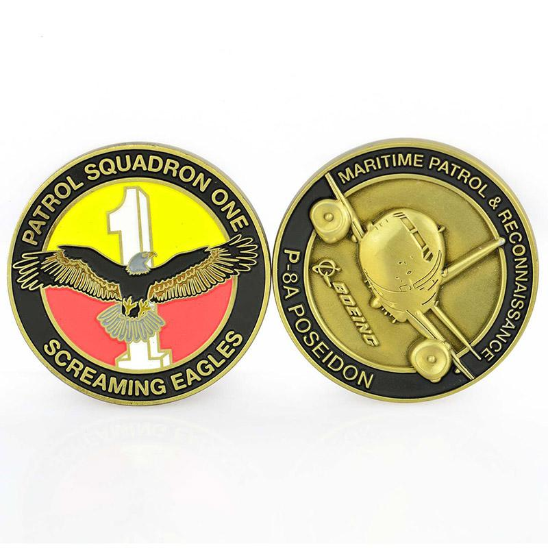 No Minimum Custom Made Your Own Double Side Metal Masonic Coin