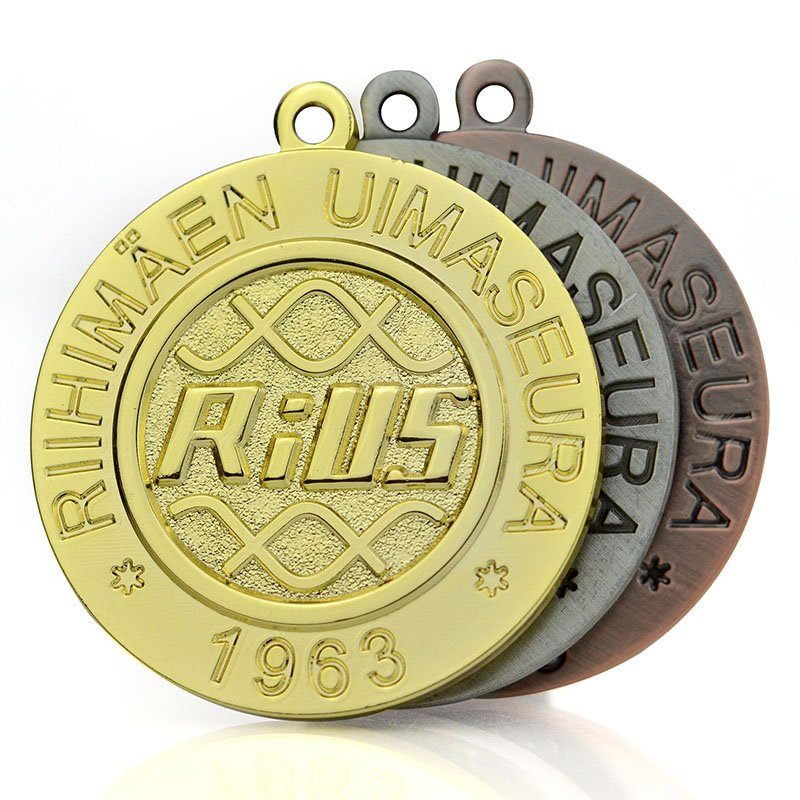 No Minimum Custom Bulk Metal Jiu-Jitsu Medal Jiu Jitsu Medal