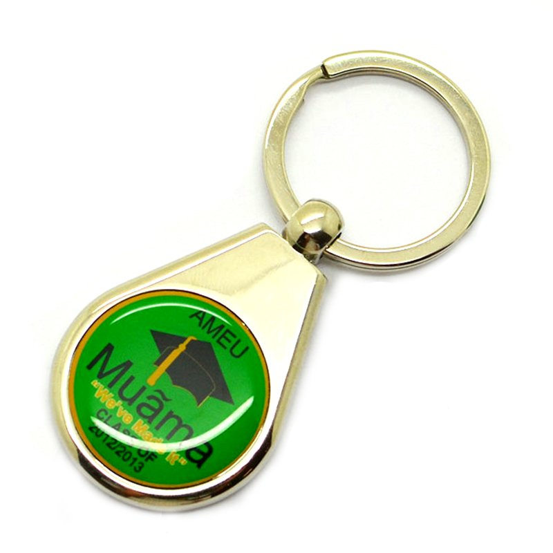 Wholesale Custom Metal Key Chain Bulk Cheap Stick Keychain