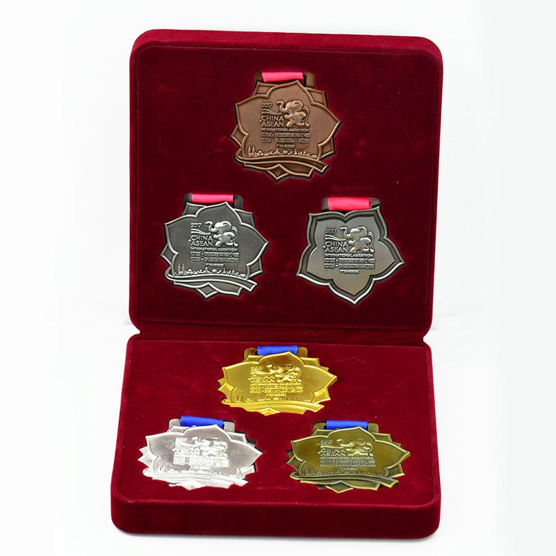 Custom Bulk Marathon Medal Running Sports Metal Medal Box