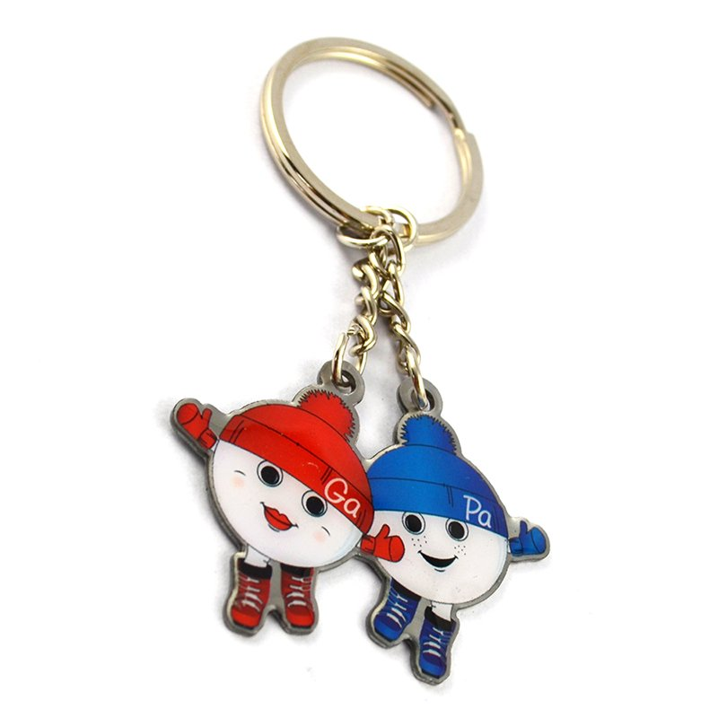 Artigifts Custom Spinner Enamel Keychain Metal Key Chain For Bag