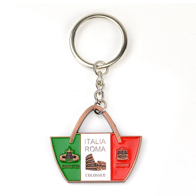 Wholesale Keychain Custom Bulk Cheap Key Chain Keyring Metal
