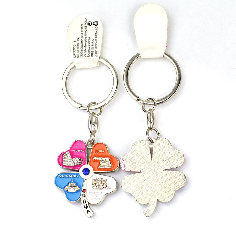 Promotional Gifts Metal Key Ring Custom Men Keyring Keychain