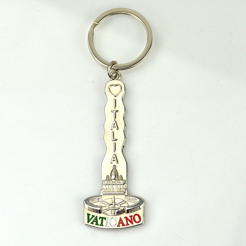 Custom Sublimation Metal Keychain Blanks Keychain Material