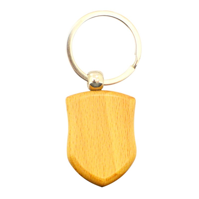 Free Design Your Own Logo Wood Keychain Custom Wooden Key Chain