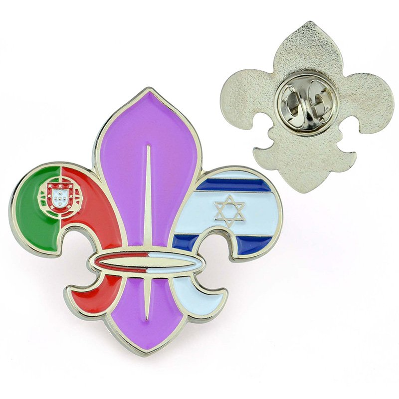 lapel pin manufacturer china supplier hard enamel pin custom