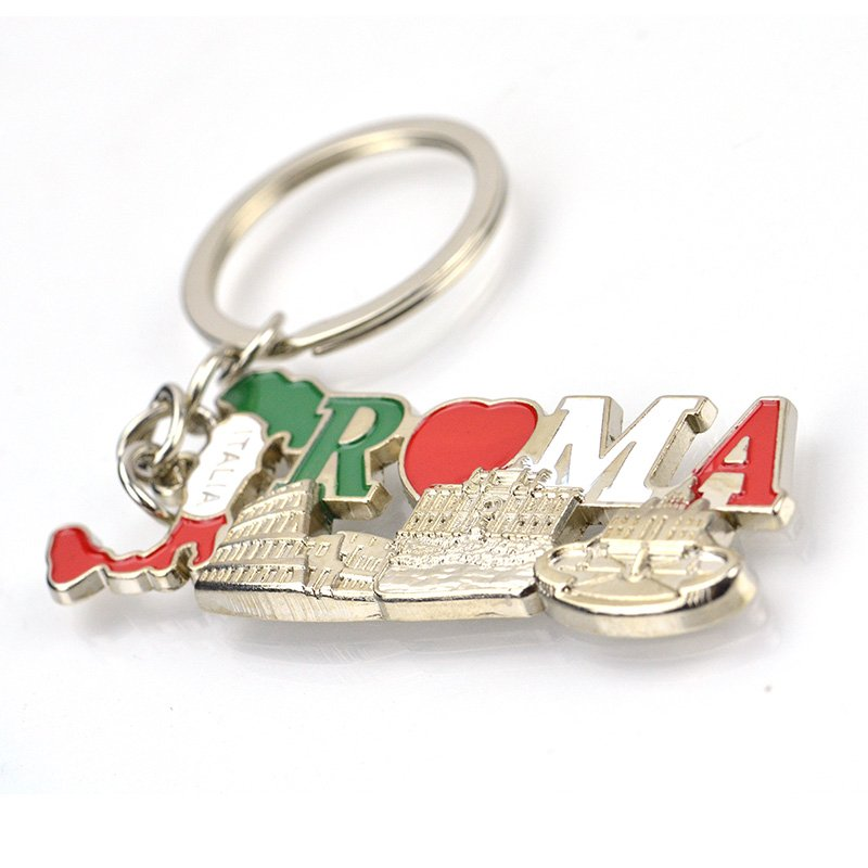 Custom Malaysia Metal Keychain Personalised Souvenir Key Chain