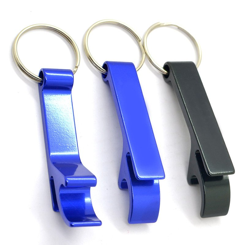 Bottle Opener Keychain Custom Metal Aluminum Key Chain Factory
