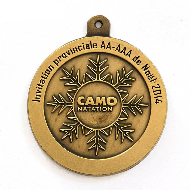 Custom Logo Table Tennis Medal Wholesale Metal Sports Medals
