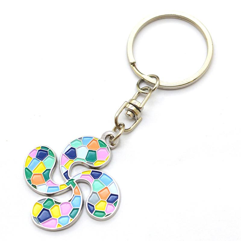 Enamel Keychain Manufacturer Custom Fashion Metal Key Chain