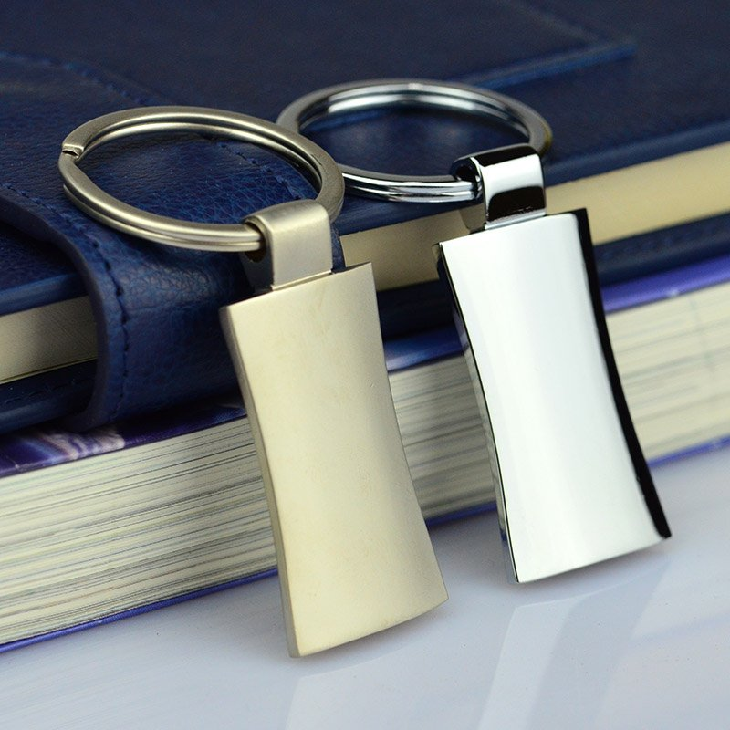 Metal Keychain Blanks Wholesale Custom Zinc Alloy Key Chain