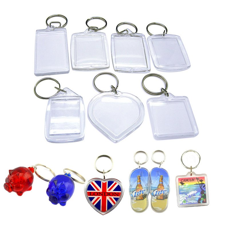 Wholesale Keychain Factory Custom Bulk Blank Acrylic Key Chains