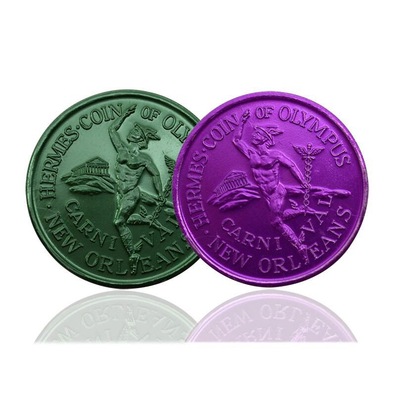 Wholesale Cheap Aluminum Coin Custom Metal Souvenir Coins