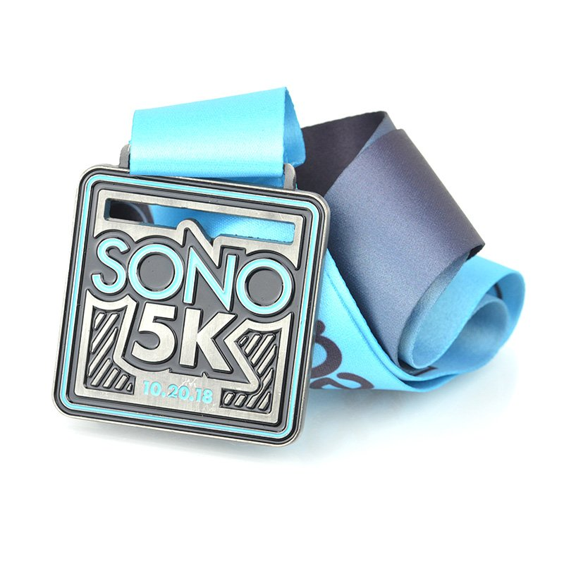 Custom Race Medals No Minimum Bulk Running Sports Medal