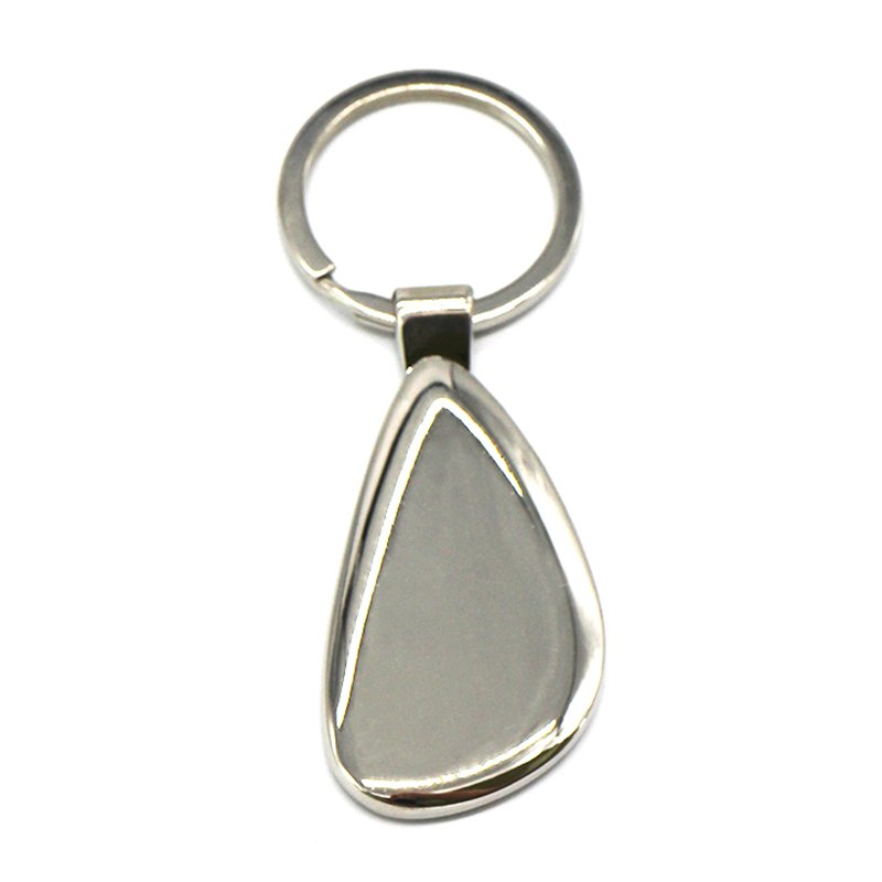 Custom Zinc Alloy Blank Keychains Bulk Metal Key Chain Rings