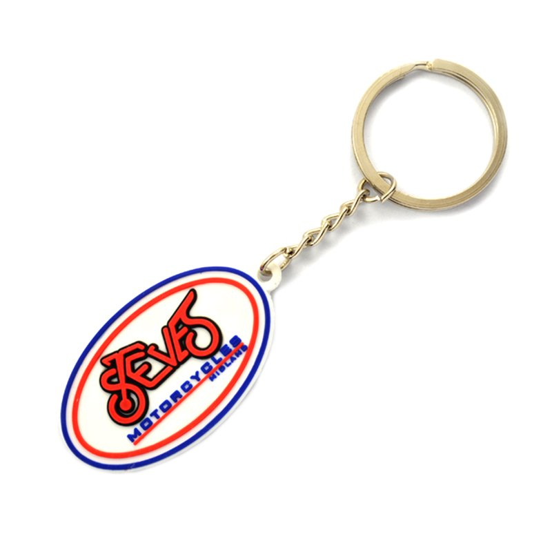 Wholesale Rubber Keychain Maker Custom Soft Pvc Key Holder