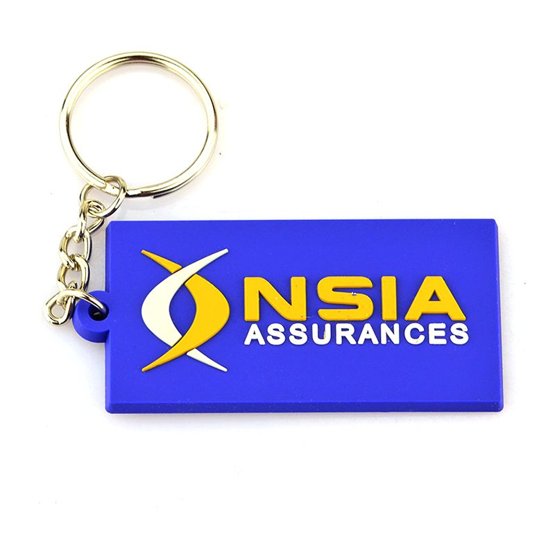 Custom Key Ring Suppliers Wholesale Bulk Pvc Rubber Keychains