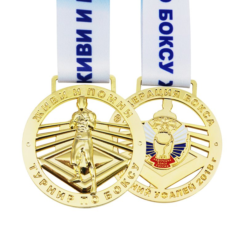 Wholesale Medals And Trophies Custom Gold Metal Sports Medal