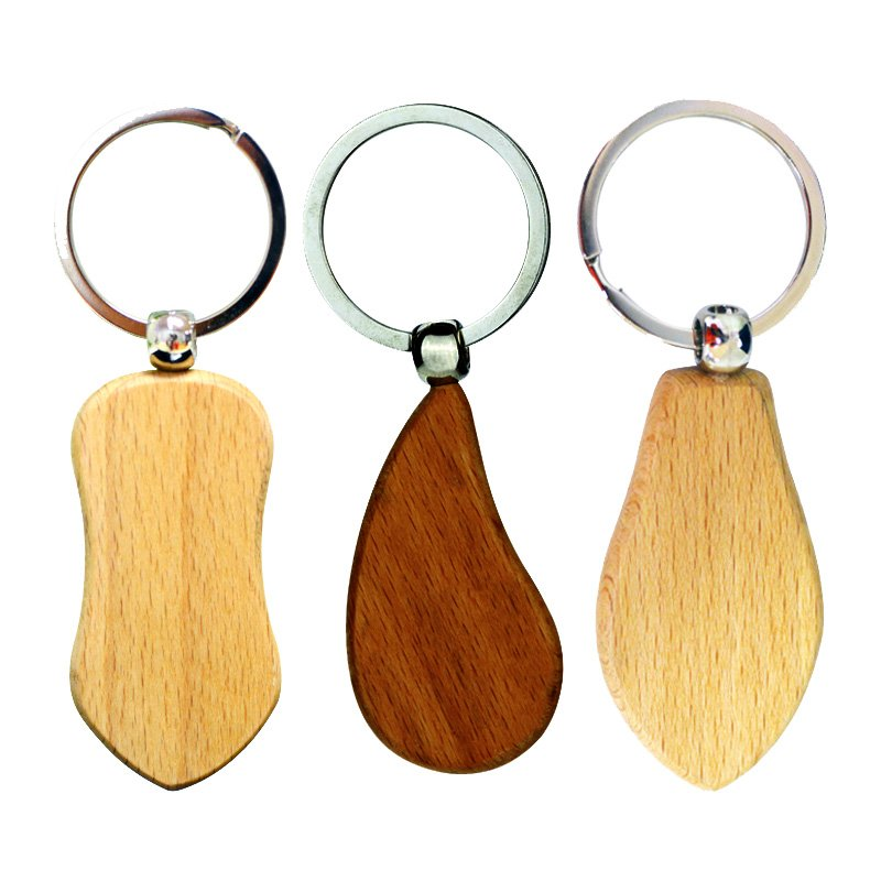 Wooden Keychain Supplier No Minimum Custom Wood Key Chains