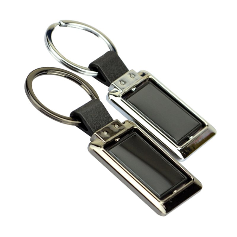 Custom Made Key Holder Leather Pu Key Chains With Logo
