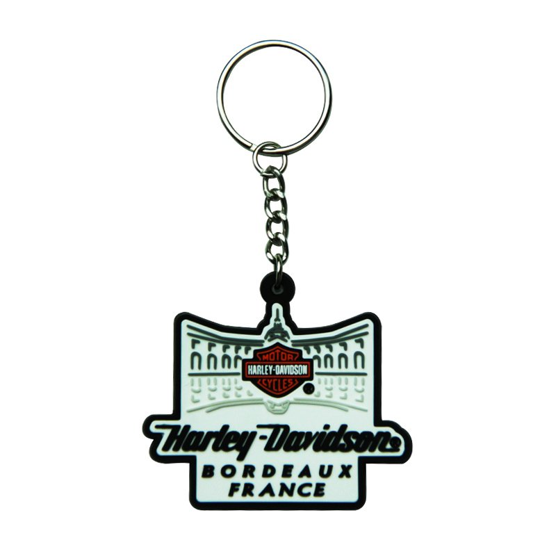 Oem Rubber Key Holder Custom Wholesale Bulk Pvc Keychains