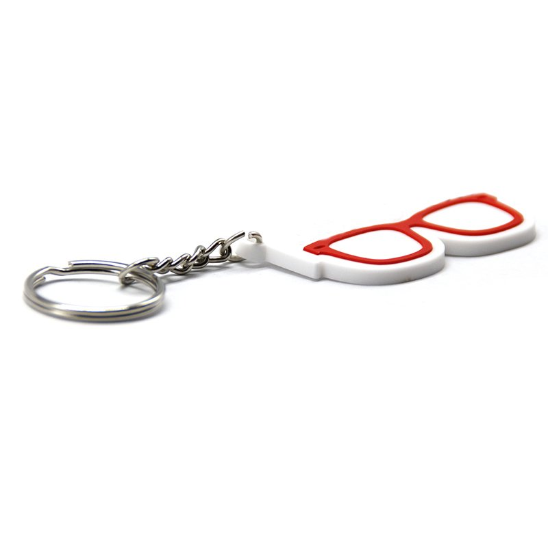 Bulk Rubber Key Holder Souvenirs Custom Soft Pvc Keychains
