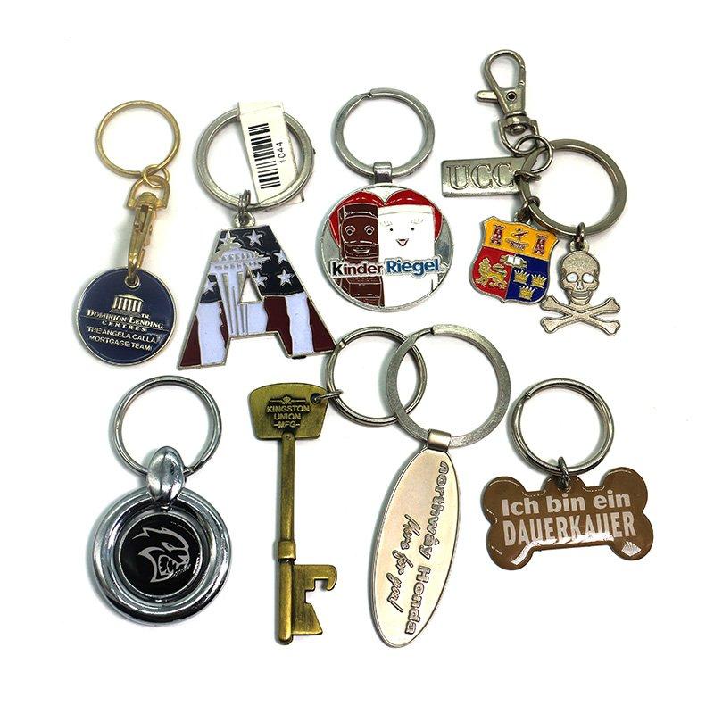 Custom Key Holder Personalized Keychain Metal Bulk