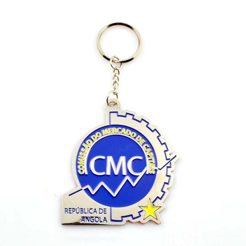 Casting Key Holder Design Keychain Custom Metal Key Rings