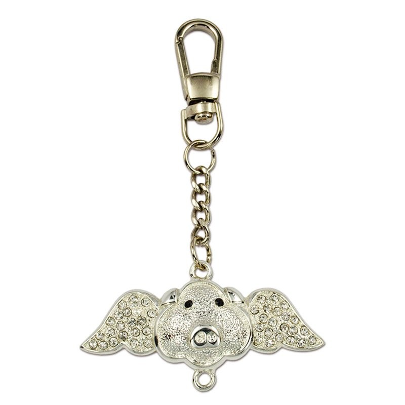 Custom Rhineston Key Holder Bling Keychain Jewelry Key Chains
