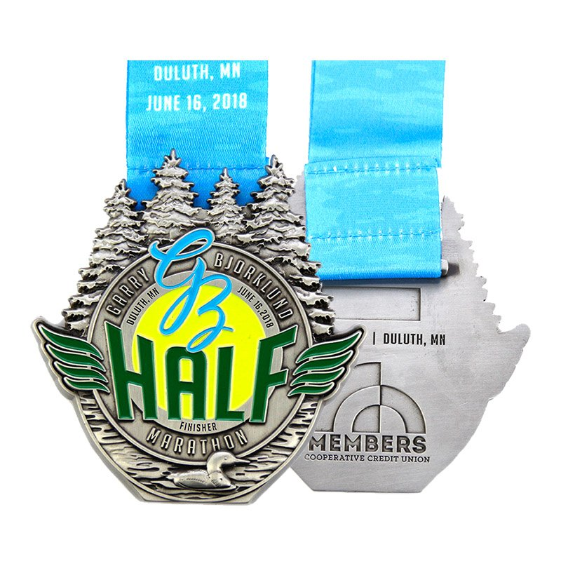 Make Your Own Medal Custom Running Sports Metal Medals