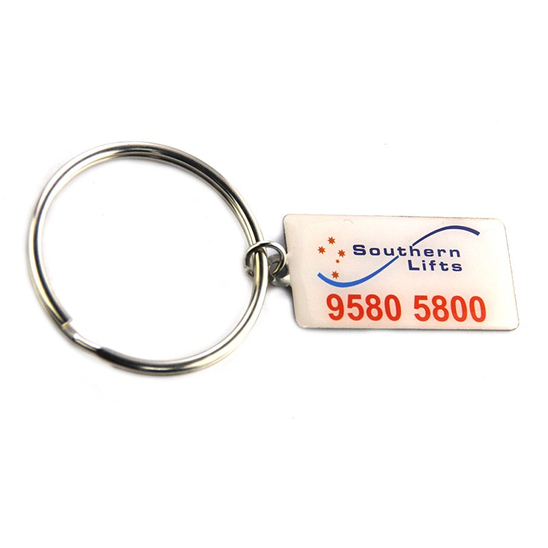 Keychain Factory Custom Metal Key Holder With Logo