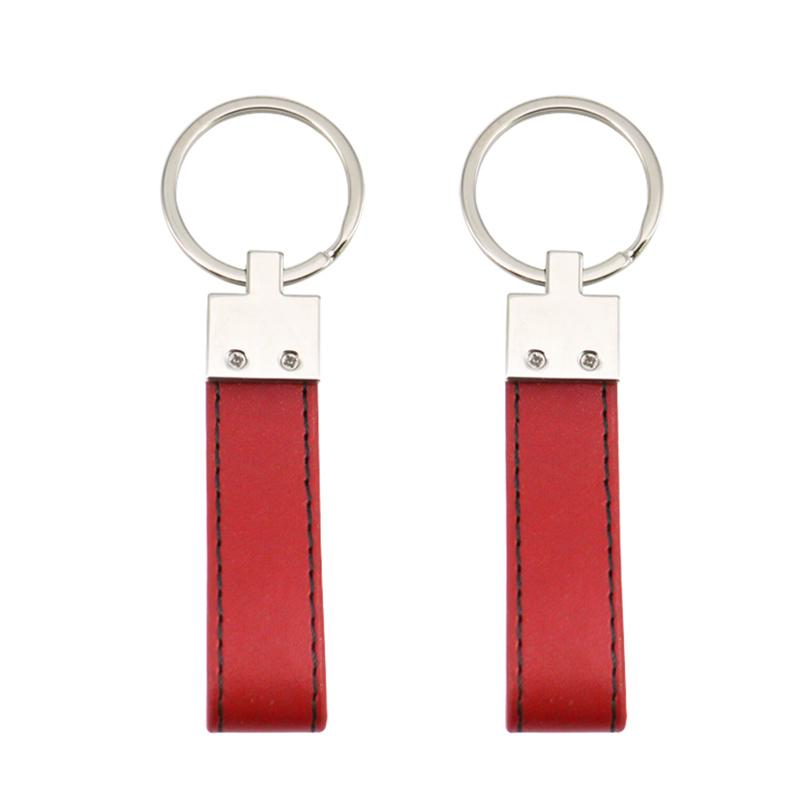 Custom Leather Key Ring Holder Wholesale Pu Keychain