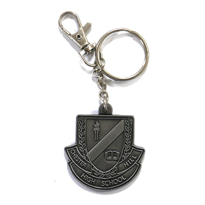 Wholesale Key Holder Custom Logo Keychain Metal Key Rings
