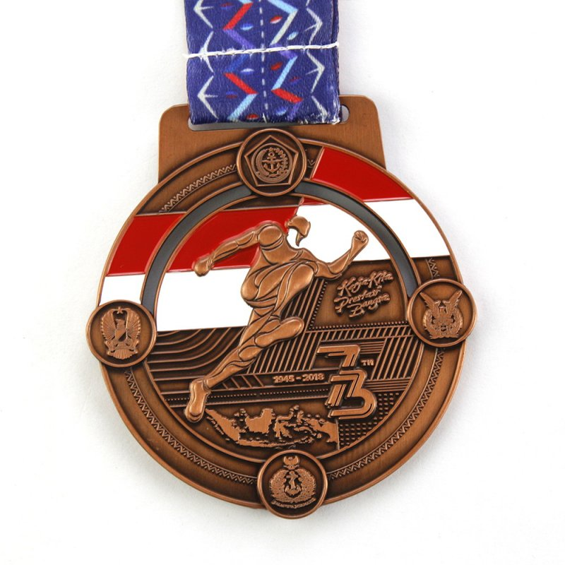 Promotional Eco Friendly Medal Copper Custom Metal Medals