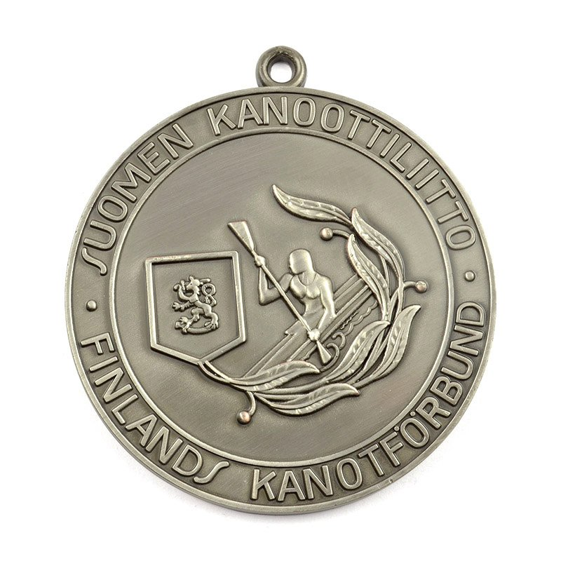 Custom Dragon Boat Medal Metal Engraved Sports Medals