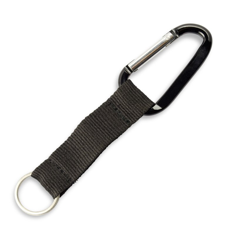 Custom Carabiner Key Holder Bulk Short Lanyard Keychain