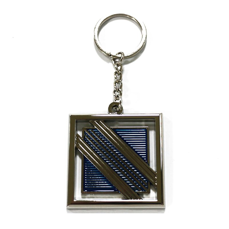 Soft Enamel Keychain No Minimum Order Metal Key Chains