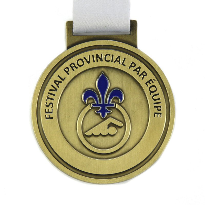 Custom Bowling Medal Make Your Own 2D Metal Bronze Medals