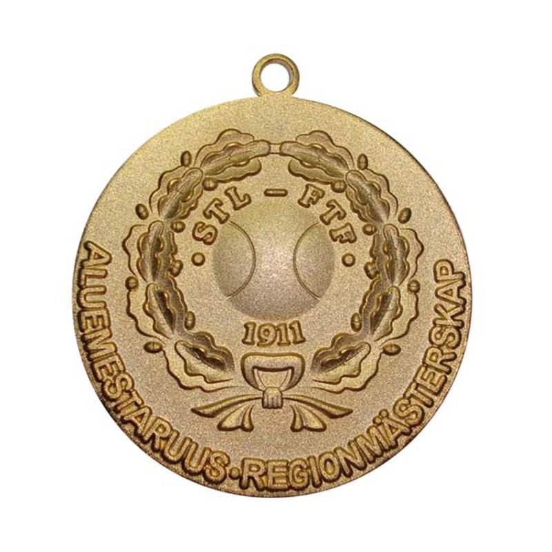 Wholesale Golf Medal Custom Gold Copper Sports Metal Medals