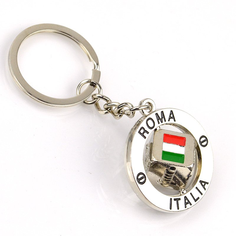 Keychain Souvenir Custom Make Your Own Metal Flag Key Chains