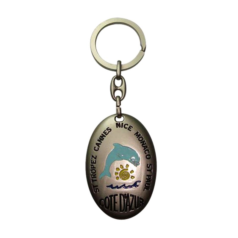 Titanium Keychain Manufacture China Custom Metal Keyring