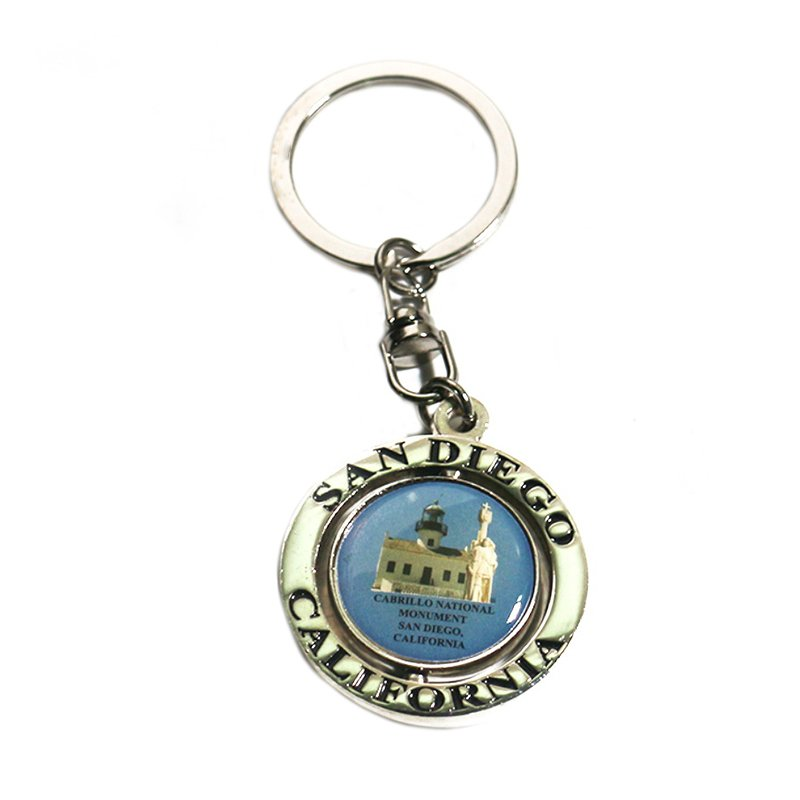 Cheap Keychain Bag Printed Souvenir Custom Logo Key Chain