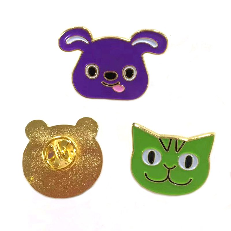 Metal Enamel Pin Set Wholesale Custom Cheap Lapel Pins