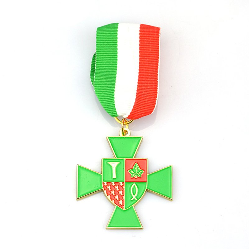 Metal Military Medals Custom Enamel Honor Medallions