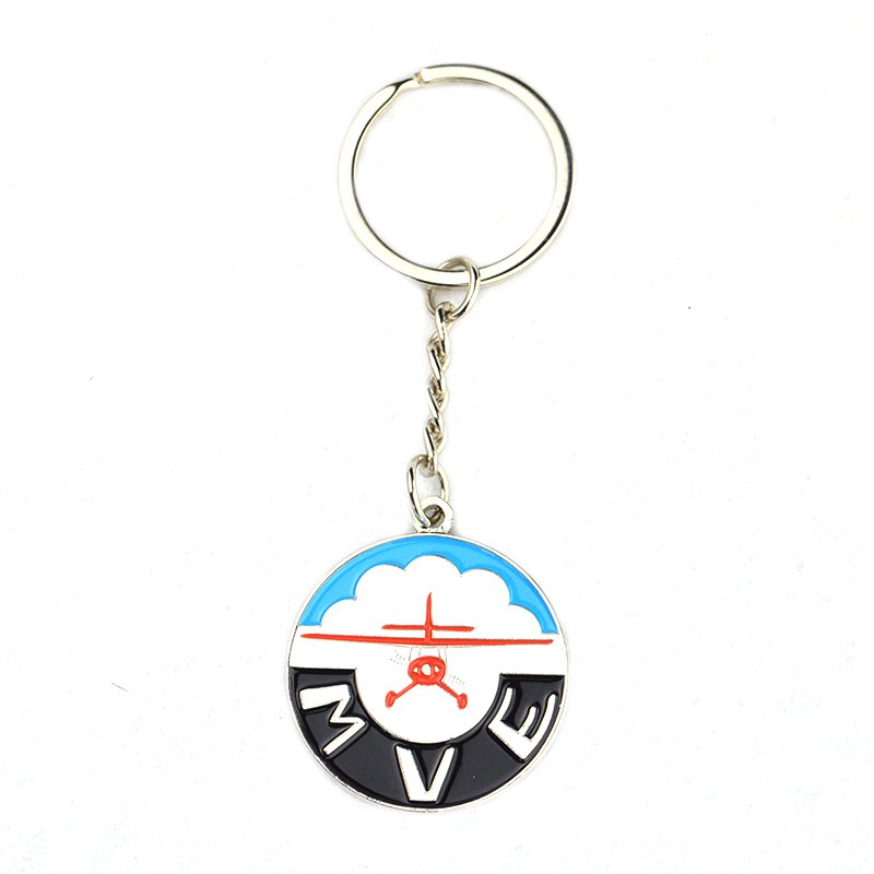 Wholesale Islamic Keychain Custom Metal Souvenir Key Chains