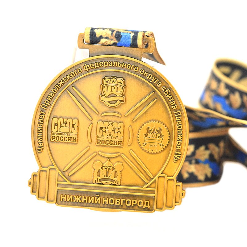 China Manufacturer Of Medal Supplier Custom Bulk Metal Medals