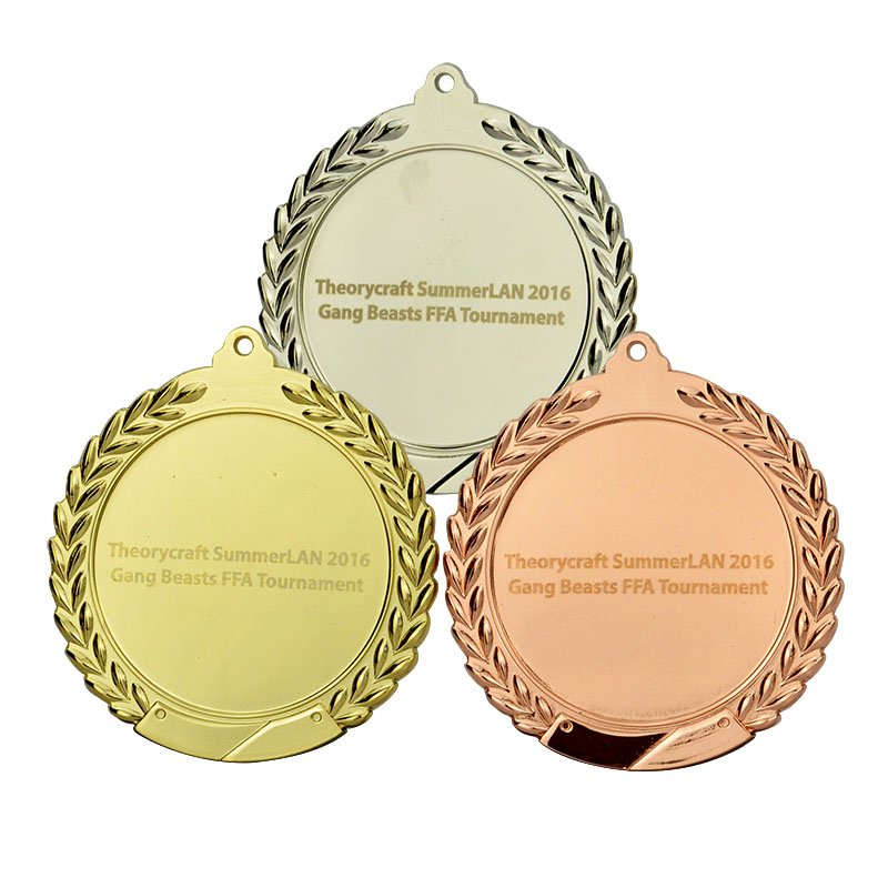 Promotional Engraved Sports Medal Custom Blanks For Medals