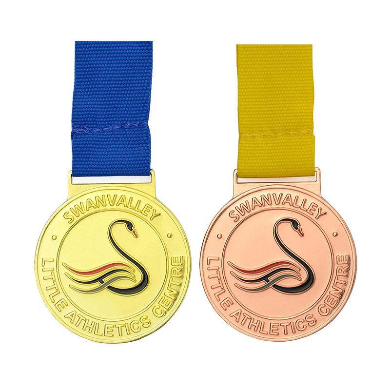 Wholesale Cheap Small Metal Medallions Custom Metal Medal