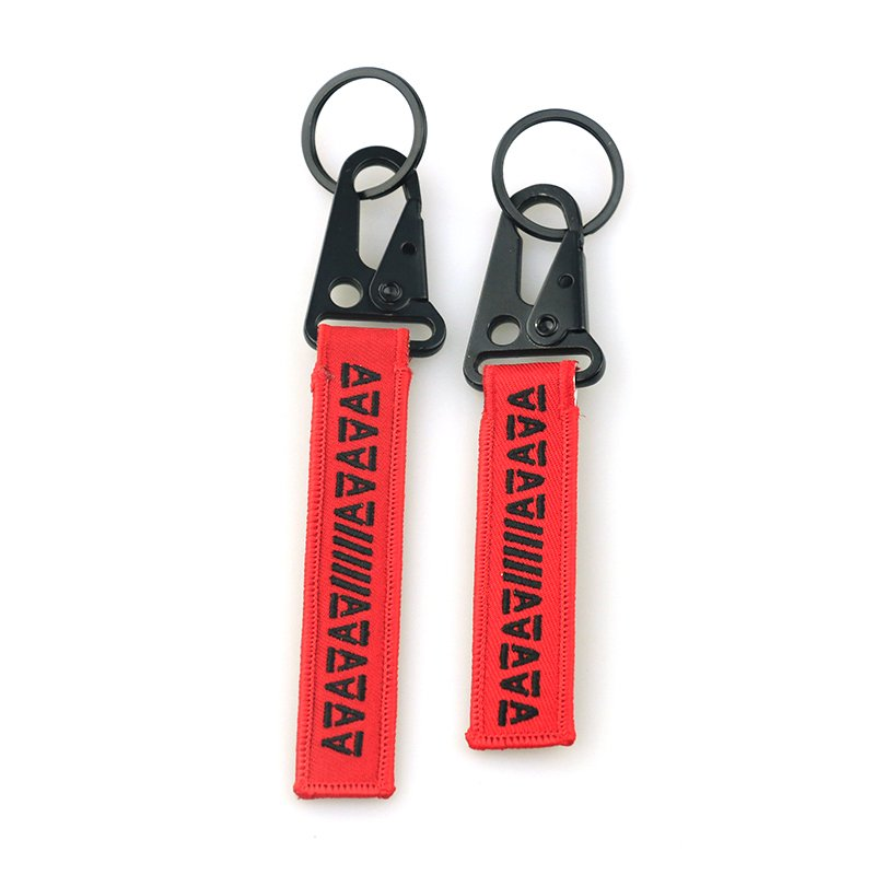 Customized Detachable Keychain Wholesale Fabric Key Chains