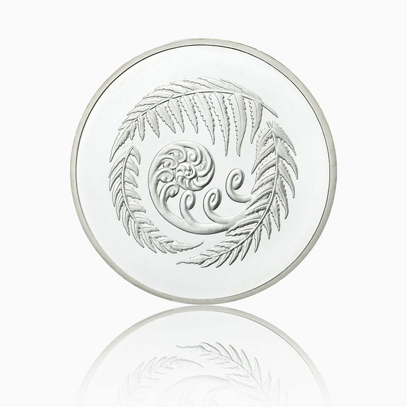 Custom Made Silver Coins Bulk Souvenir Metal Plated Coins